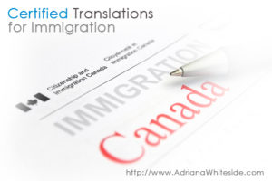 Certified translator in Toronto