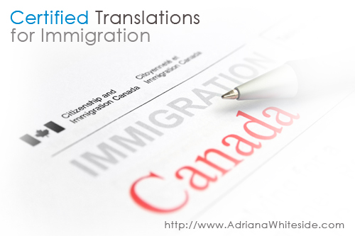 Certified translator in Toronto