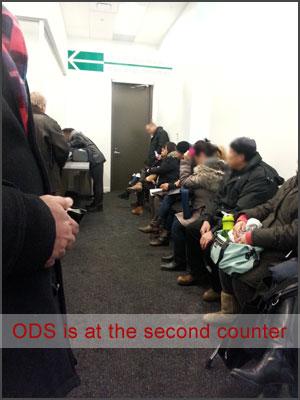 Inside ODS Office in Toronto