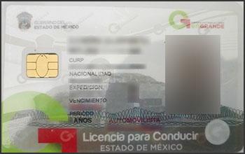 Licencia Conducción - Mexico - Toronto