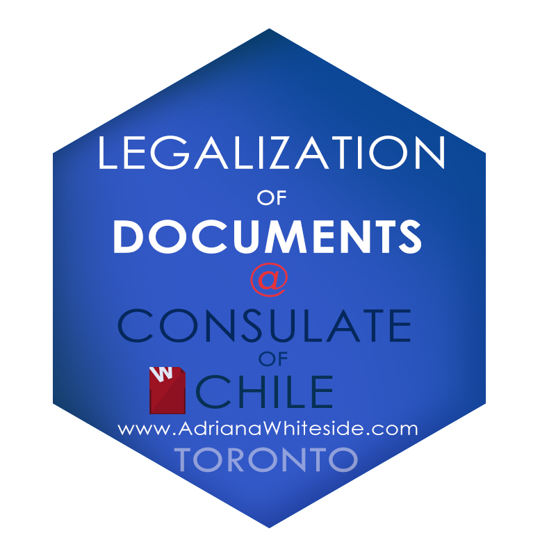 Legalizations and Translations at the consulate of Chile
