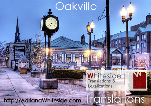 Spanish translations - Oakville :: CERTIFIED