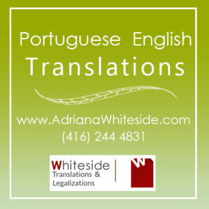 Portuguese English translations - Toronto