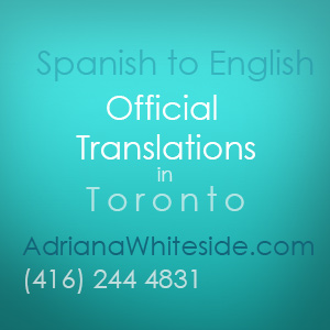 Spanish English Official Translations in Toronto