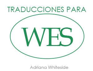 Traducciones para WES