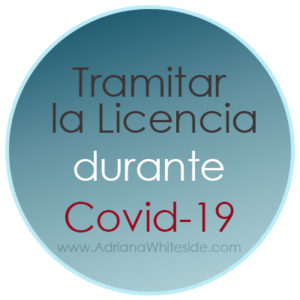 Licencia de Conducir durante Covid-19