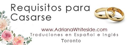 Casarse En Toronto