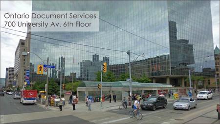 Ontario Document Service - Toronto