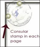 Consular Stamp - apostille toronto - legalization